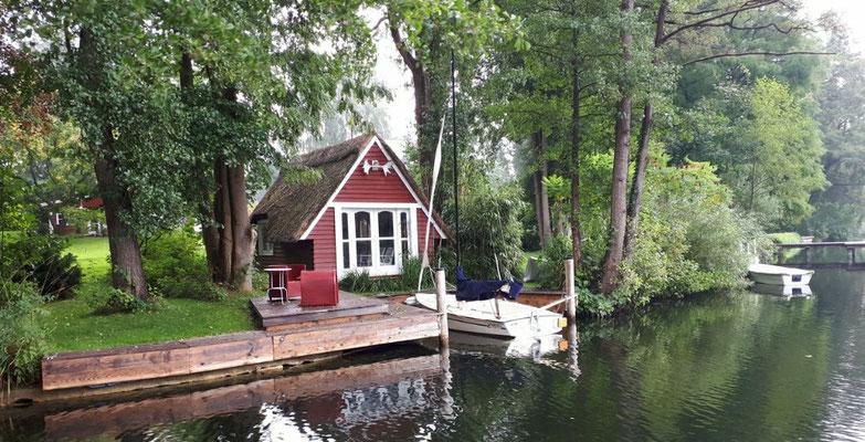 Einfach nur schön. Es ist nur das kleine Bootshaus...