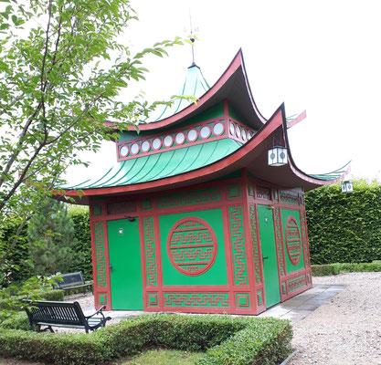 Chinesischer Pavillon, jetzt WC