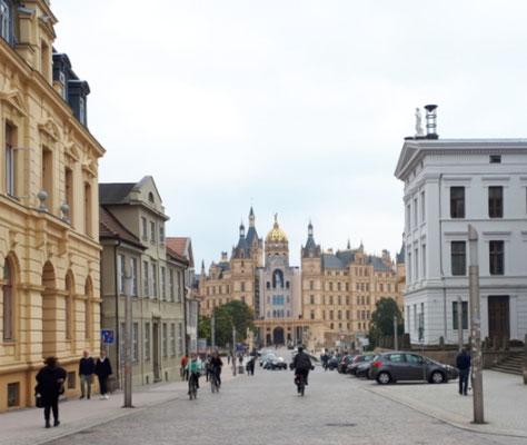 Blick auf das Schloss von der Altstadt