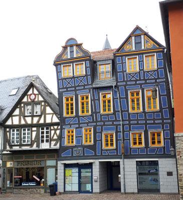 """Das """"schiefe Haus"""" von 1725"""