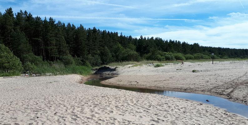 Der Strand, sehr schön!