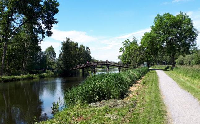 Kanal zum Meer in Hagenburg