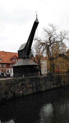 der Alte Kran im Wasserviertel