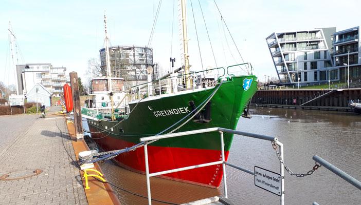 Museumsschiff Greundieck