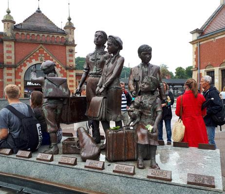 Zum Gedenken an die nach Großbritannien verschifften und damit geretten jüdischen Kinder