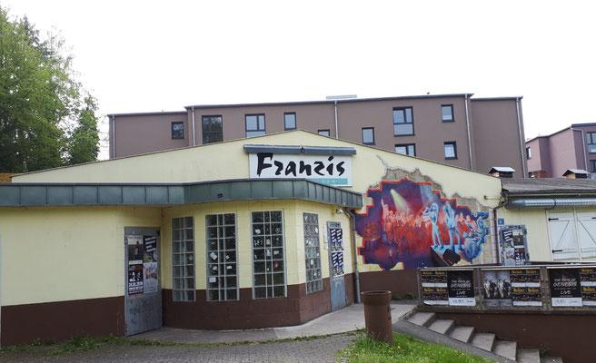 Franzi, Verwandschaft aus Bremen war auch schön hier und hat sich in den Leitz- Baracken eingerichtet