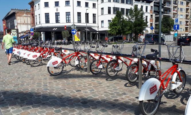 Ein Renner, Fahrräder der Stadt Antwerpen.