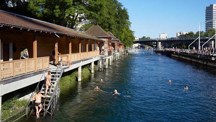 Ein Badi, © Zürich Tourismus
