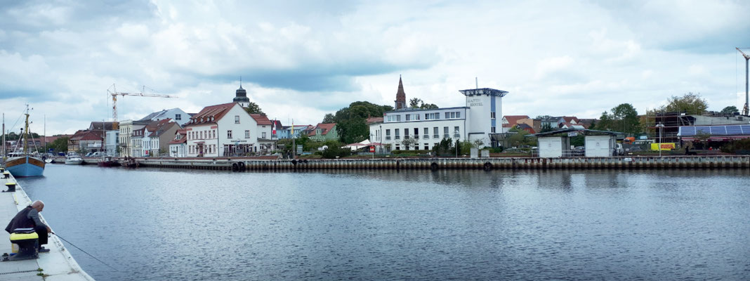 Und noch einmal der Stadthafen