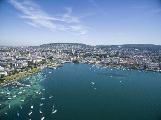 Blick auf den Bürkliplatz, © Zürich Tourismus