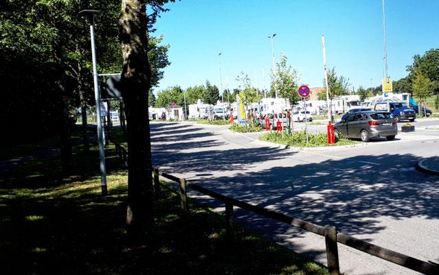 Der Reisemobilhafen in Überlingen