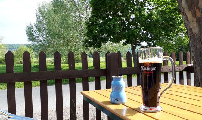 Biergarten am Lahnradweg