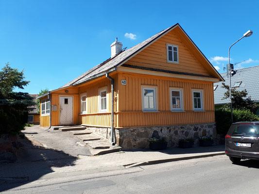 Typische karäische Häuser