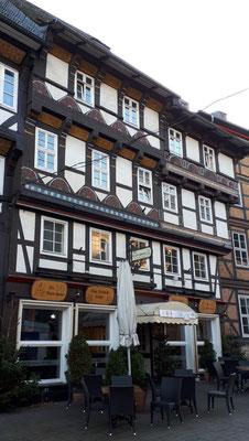 Fachwerkhäuser an der Marktkirche