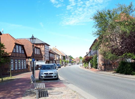Hauptstraße in Gartow