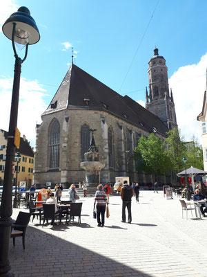 St.-Georgs-Kirche mit dem Daniel