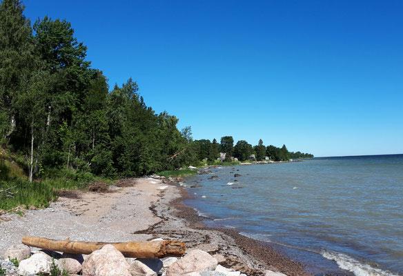 Häuschen an der Ostsee