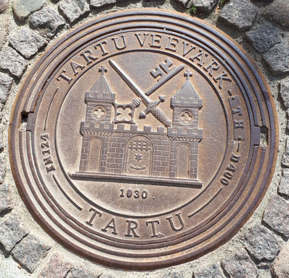 Gullideckel von Tartu