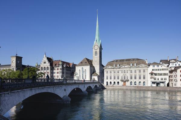 Fraumünster, © Zürich Tourismus