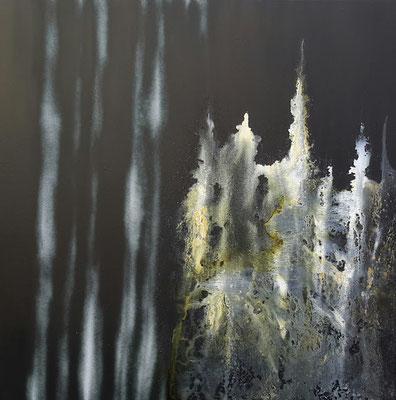 Radiographie de la Nuit #1 - 80x80 cm -
