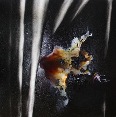 Radiographie de la Nuit #10 - 80x80 cm -