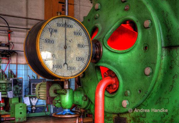 Anzeige am Generator III