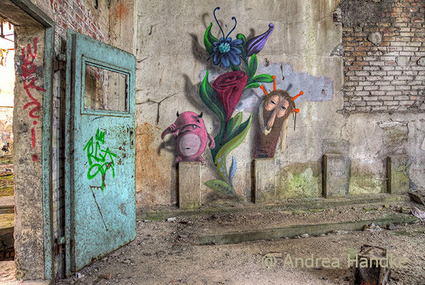Streetart von Kim Koester