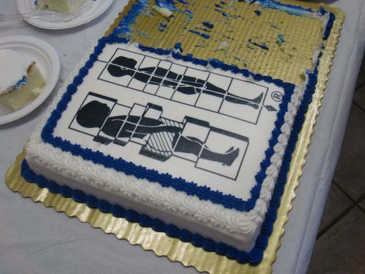 卒業式に出たケーキ