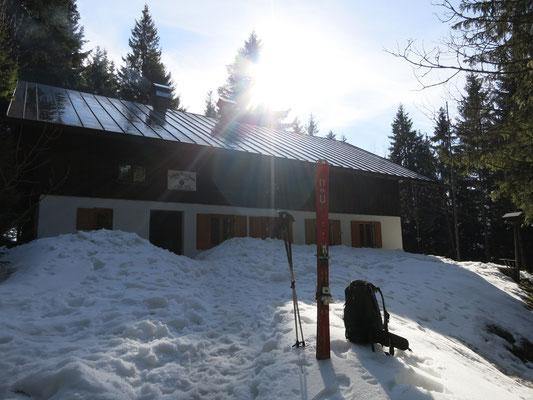 Das Ludwig-Plötz-Haus im März
