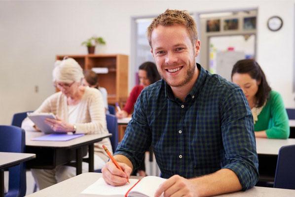 Gruppenunterricht in Rostock in Englisch, Spanisch, Französisch, Deutsch