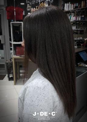Soin lissant sur cheveux afro - J.DE.C ®