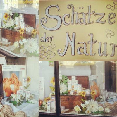 """Plakat gestaltung """"Schätze der Natur"""" sehenswert gestaltet."""
