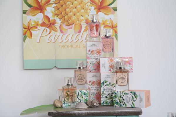 Parfum sehenswert gestaltet