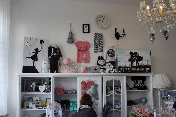 Einrichtung des Ladenlokals Nummer82 Bielefeld sehenswert gestaltet.