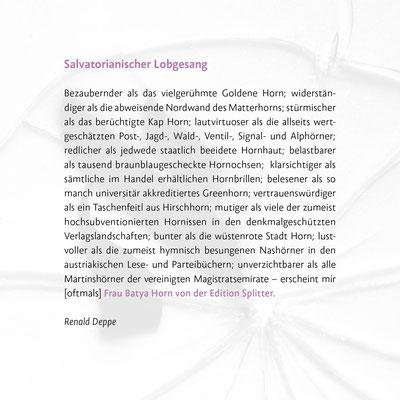 Salvatorianischer Lobgesang - Renald Deppe