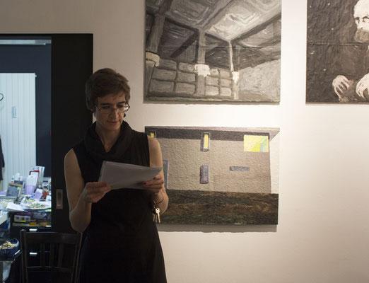 Räumlinge - Isabella Marboe/Vortragsende