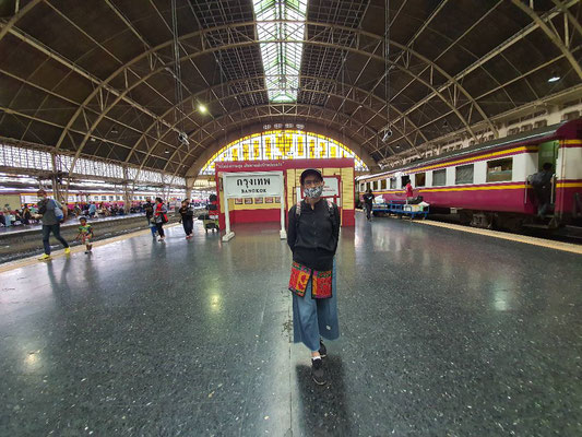 Why not taking the train on your next Thailand holiday.