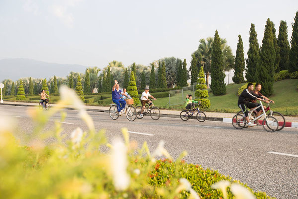Bicycle ride around the Community