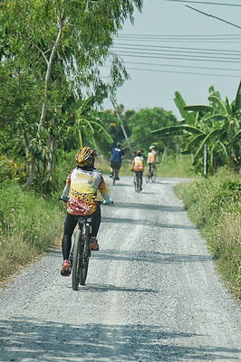 Cycling around the Village