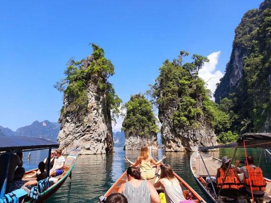 Cheow Lan Lake Boat Tour