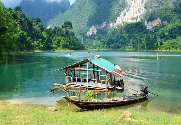 The famous Cheow Lan Lake