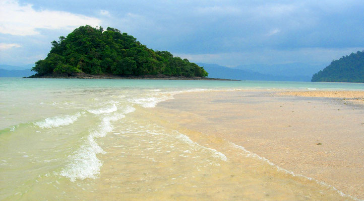 Koh Gum Island in the Andaman Sea
