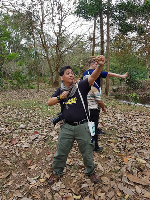 Planting Trees with Slingshots