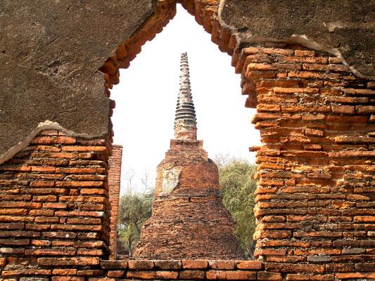 The ancient Ruins of Ayuttaya