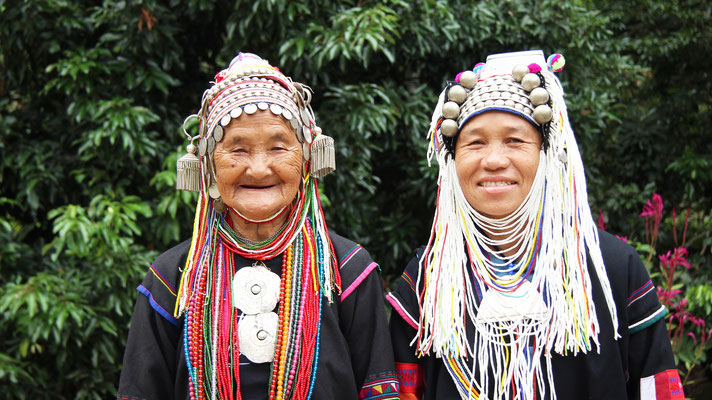 Akha Hilltribe People