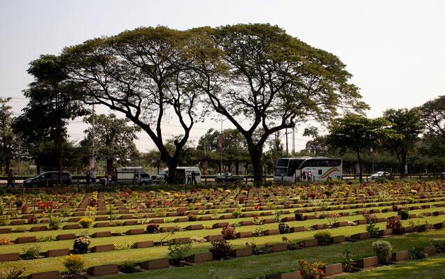 Don-Rak War Cemetery at Kanchanaburi City