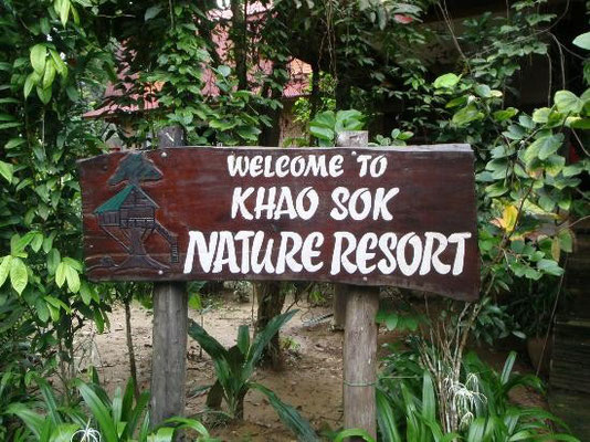 Welcome to Khao Sok Nature Resort