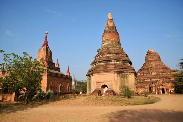 The old Pagodas of Bagan
