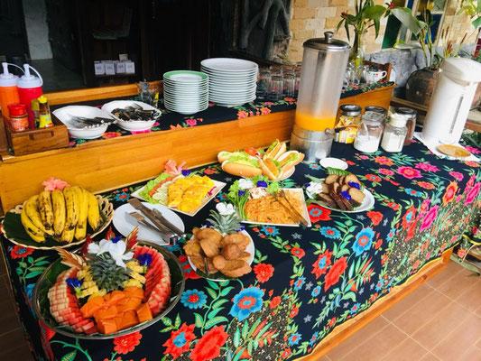 Khao Sok Nature Resort Breakfast Buffet