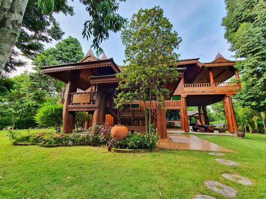 Traditional Thai House.